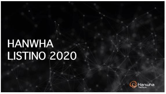 Nuovo Listino Wisenet Ottobre 2020 Novità