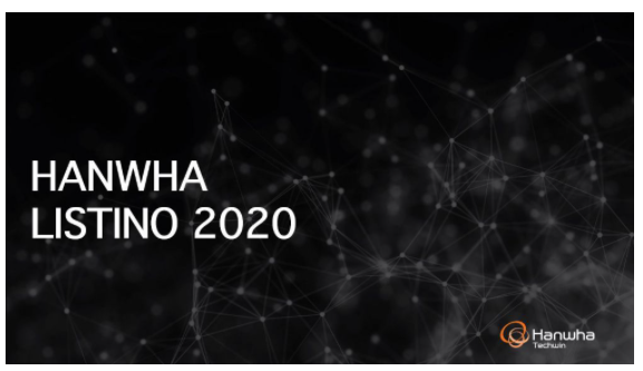 SIR.tel. : Hanwha – Nuovo Listino Wisenet CCTV SETTEMBRE 2020, now available !