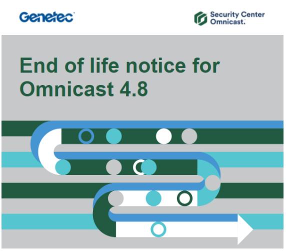 Pianificazione degli aggiornamenti di Omnicast 4.8